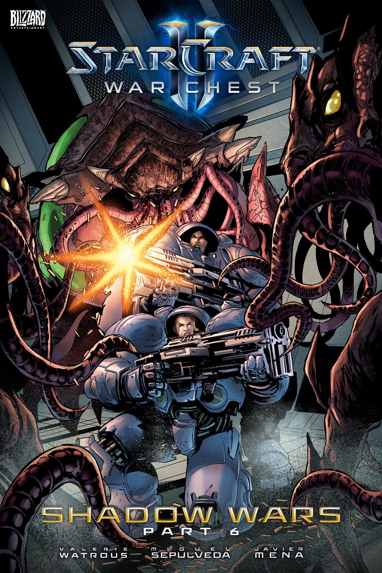 Blizzard | StarCraft Comic | Shadow Wars Part 6